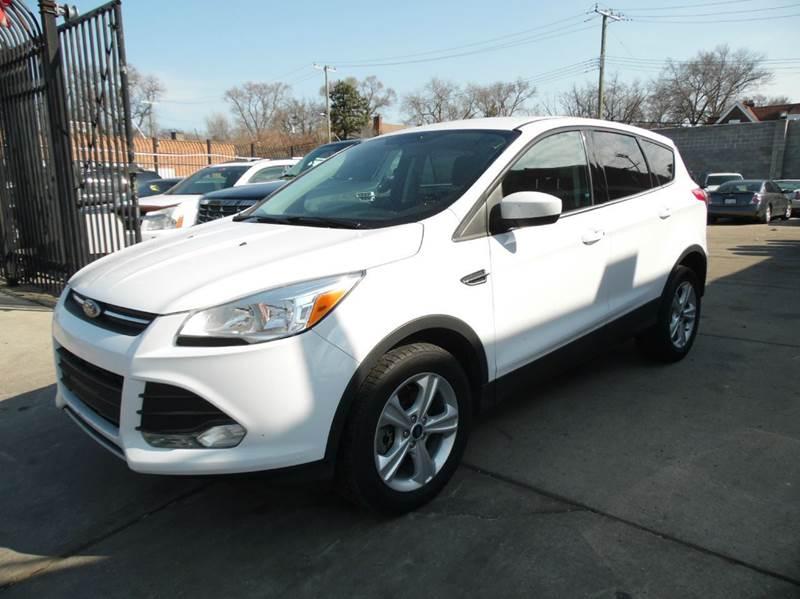 2014 Ford Escape  Miles 127922Color WHITE Stock 1288 VIN 1FMCU9GX5EUE15318
