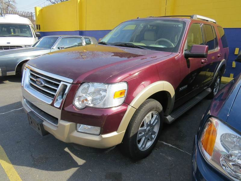 2007 Ford Explorer  Miles 93606Color BURGUNDY 11 Stock 1171 VIN 1FMEU74E57UB66179