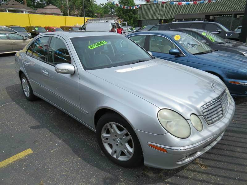 2006 Mercedes-Benz E-class car for sale in Detroit