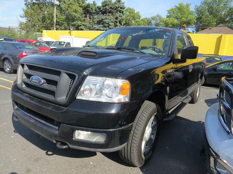 2005 Ford F-150  Miles 159554Color BLACK 36 Stock 1107 VIN 1FTRX14W05NA59776