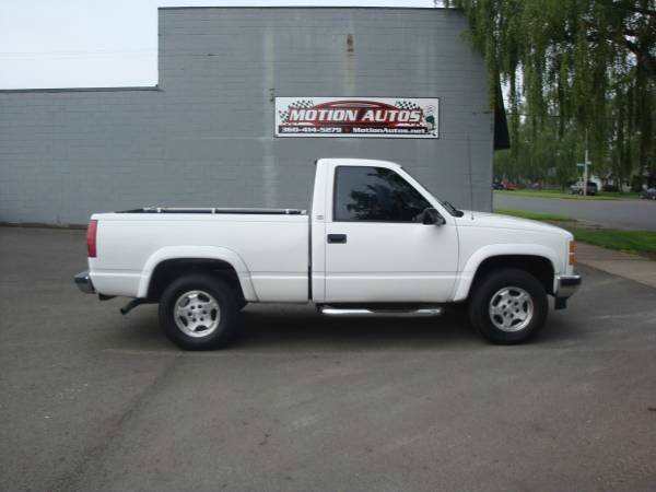 1998 gmc sierra 1500 regular cab shortbox 4x4 5 7 v8 auto. Black Bedroom Furniture Sets. Home Design Ideas