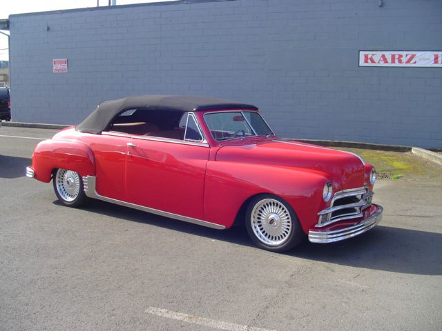 1950 Plymouth SUPER DELUXE CONVERTIBLE