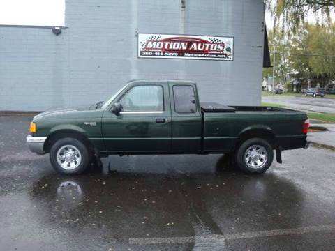 2001 Ford Ranger for sale in Longview, WA