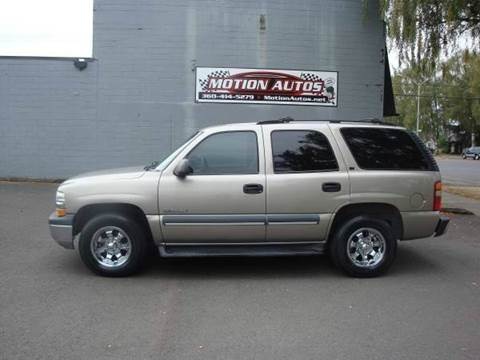2002 Chevrolet Tahoe for sale in Longview, WA