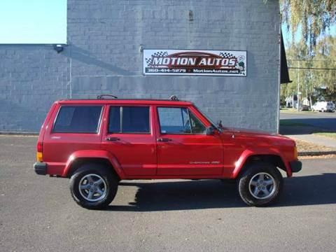 1996 Jeep Cherokee for sale in Longview, WA