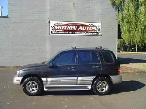 2001 Chevrolet Tracker for sale in Longview, WA