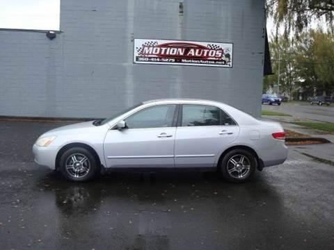 2004 Honda Accord for sale in Longview, WA