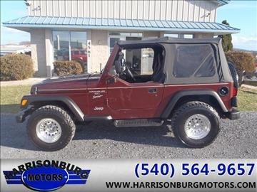 2001 jeep wrangler for sale. Black Bedroom Furniture Sets. Home Design Ideas