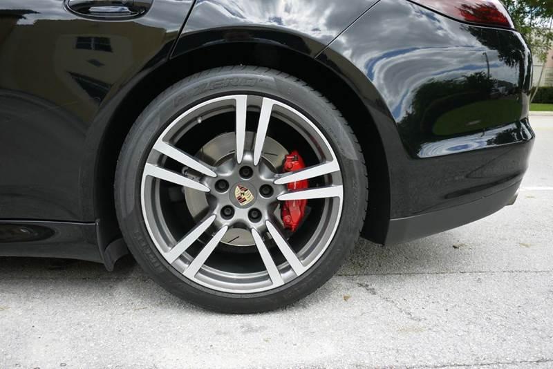 2012 Porsche Panamera Turbo 4dr Sedan - Doral FL