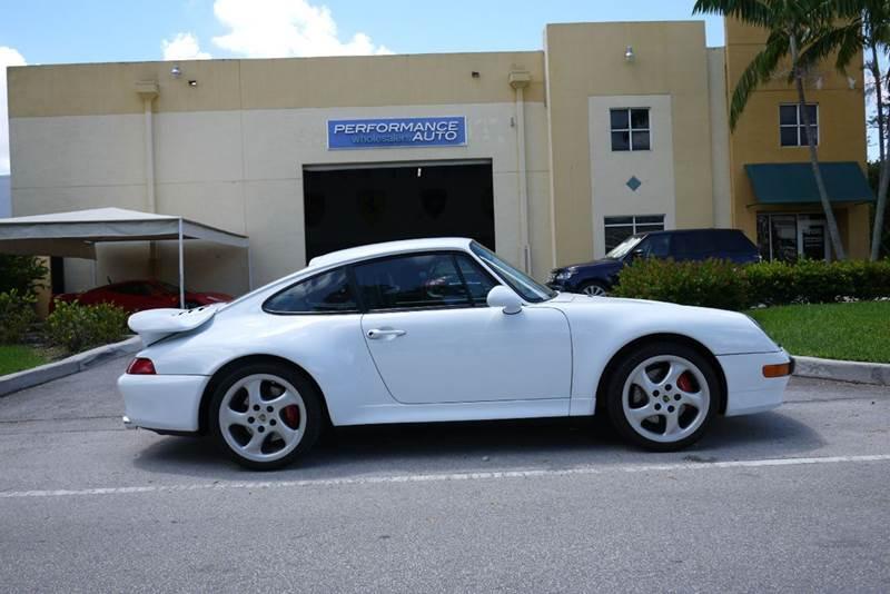 1997 Porsche 911 AWD Turbo 2dr Coupe - Doral FL