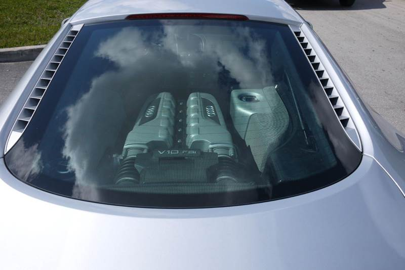 2010 Audi R8 AWD 5.2 quattro 2dr Coupe 6A - Doral FL