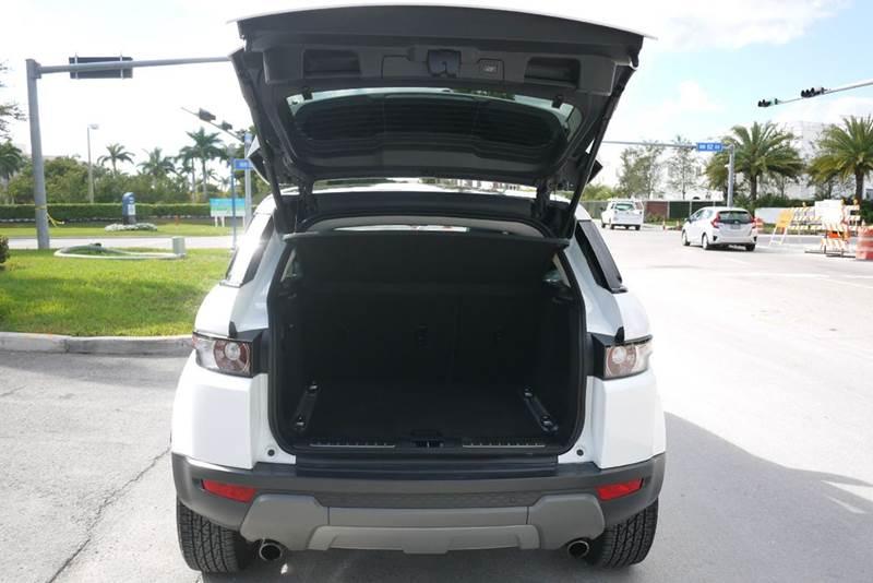 2013 Land Rover Range Rover Evoque Pure Premium AWD 4dr SUV - Doral FL