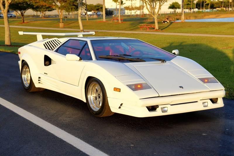 1989 Lamborghini Countach 25 ANNIVERSARY
