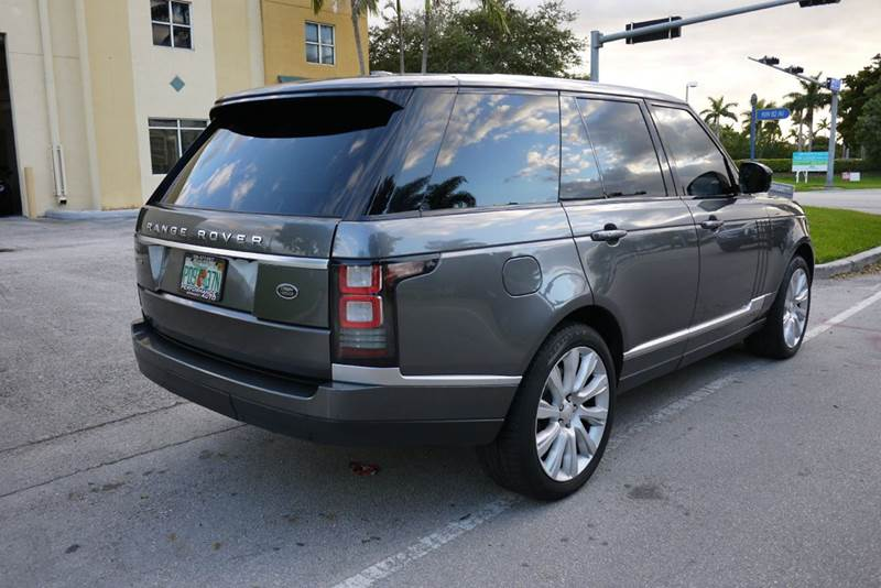 2014 Land Rover Range Rover Supercharged 4x4 4dr SUV - Doral FL
