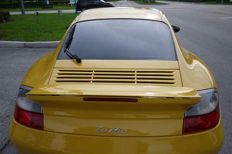 2001 Porsche 911 Turbo AWD 2dr Coupe - Doral FL