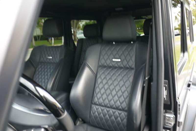 2014 Mercedes-Benz G-Class G 63 AMG AMAWD AM4MATIC 4dr SUV - Doral FL