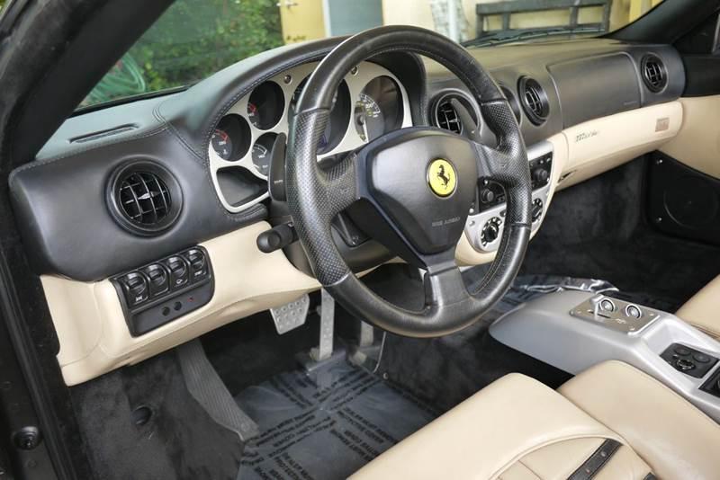 2001 Ferrari 360 Spider 2dr Convertible - Doral FL