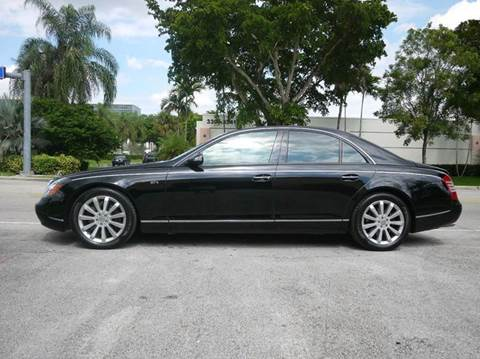2006 Maybach 57S for sale in Doral, FL