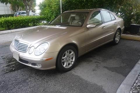 2003 Mercedes-Benz E-Class for sale in Doral, FL