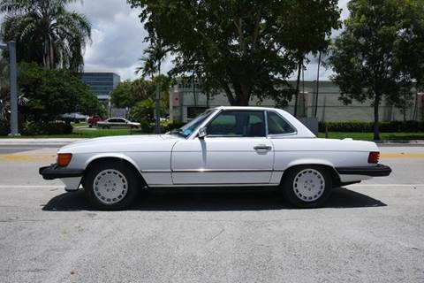 1989 Mercedes-Benz 560-Class for sale in Doral, FL