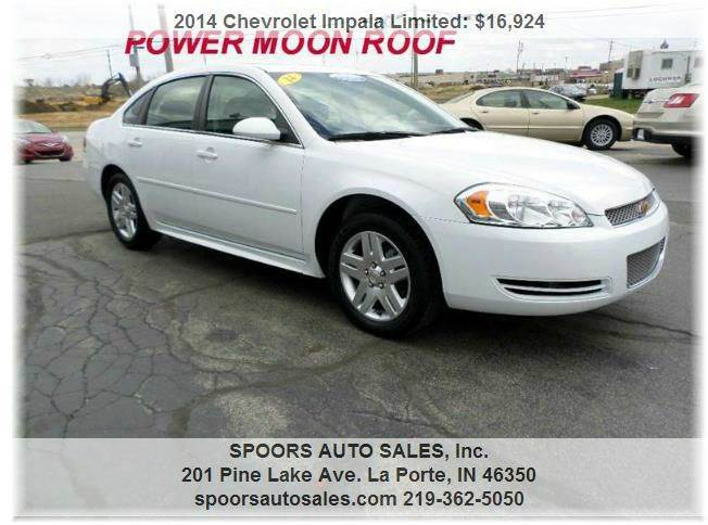 Chevrolet Impala Limited For Sale In Indiana