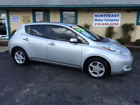 2012 Nissan LEAF for sale in Universal City, TX