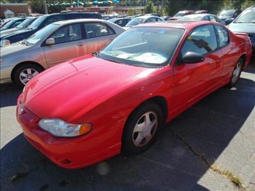 2001 Chevrolet Monte Carlo for sale in Richlands, VA
