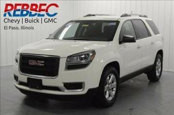 2014 GMC Acadia for sale in El Paso, IL