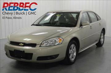2010 Chevrolet Impala for sale in El Paso, IL