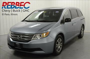 2011 Honda Odyssey for sale in El Paso, IL