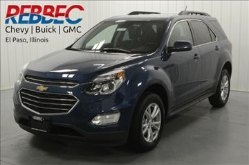 2017 Chevrolet Equinox for sale in El Paso, IL