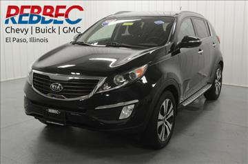 2013 Kia Sportage for sale in El Paso, IL