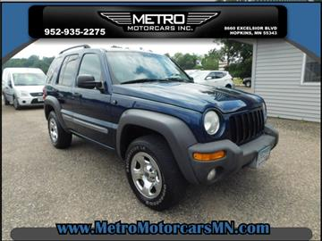 2002 Jeep Liberty for sale in Hopkins, MN