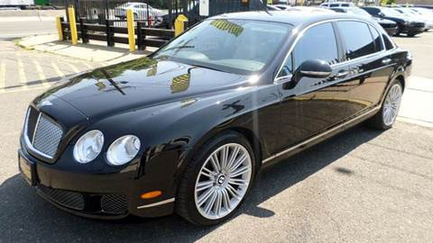 2010 Bentley Continental Flying Spur Speed for sale in Newark NJ