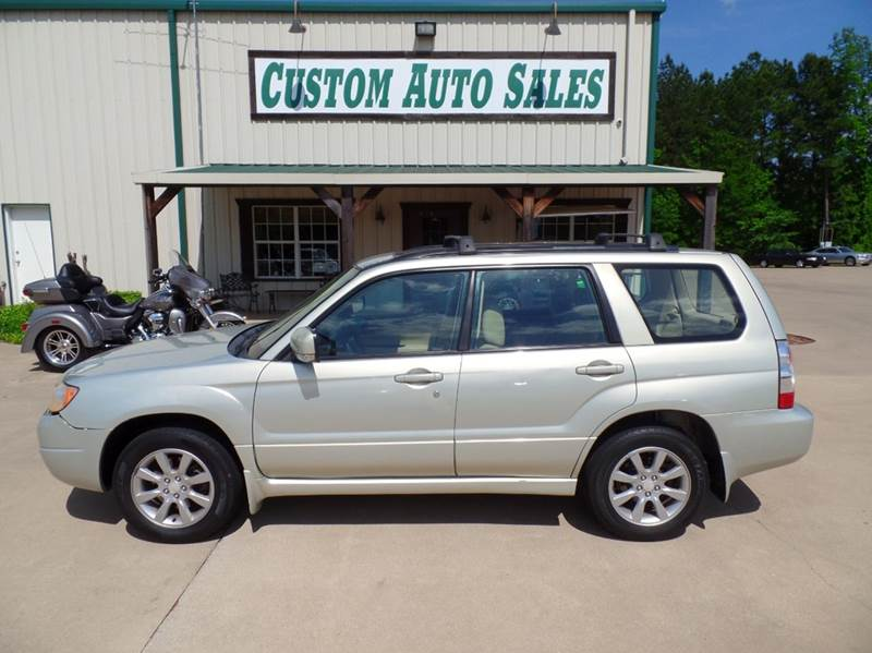 2007 Subaru Forester AWD 2.5 X Premium Package 4dr Wagon (2.5L F4 4A) - Longview TX