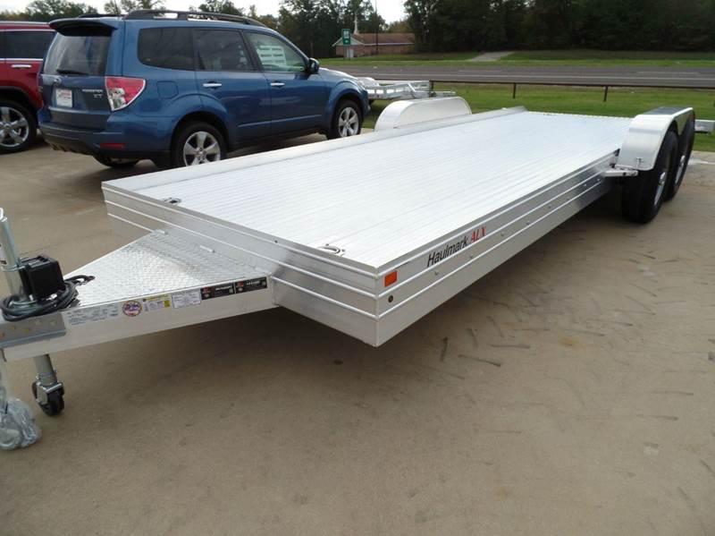 2015 Haulmark Aluminum 8x20  - Longview TX