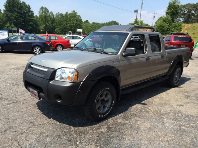 2002 nissan frontier xe v6 4dr crew cab 4wd lb in. Black Bedroom Furniture Sets. Home Design Ideas