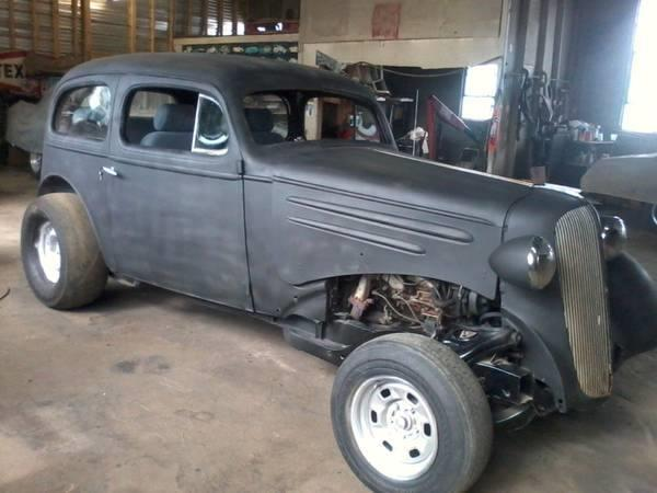 Document moved for 1936 chevy two door sedan