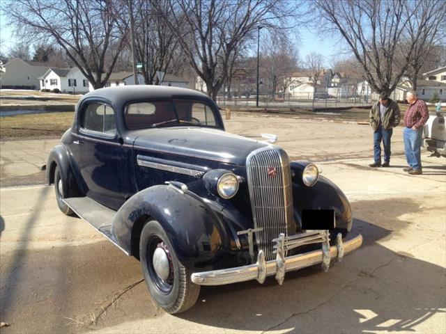 1936 Buick Business Coupe