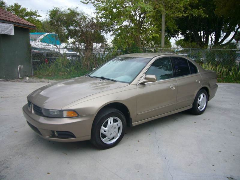 2002 mitsubishi galant es 4dr sedan in fort lauderdale fl. Black Bedroom Furniture Sets. Home Design Ideas