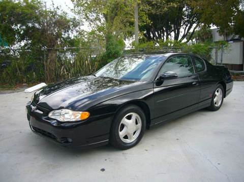 2001 Chevrolet Monte Carlo for sale in Fort Lauderdale, FL