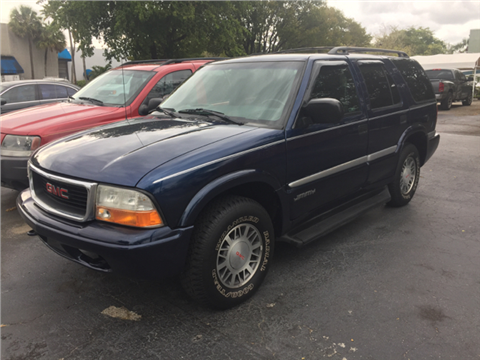 2000 GMC Jimmy for sale in Fort Lauderdale, FL