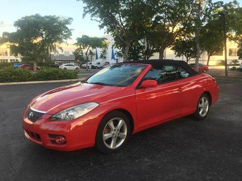 2008 Toyota Camry Solara for sale in Fort Lauderdale, FL