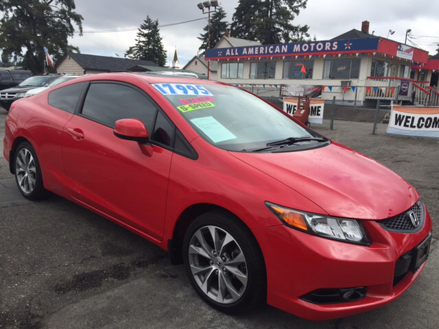 $17,995, 2012 Honda Civic Si 2dr Coupe