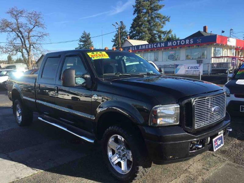 2006 Ford F 350 For Sale In Washington
