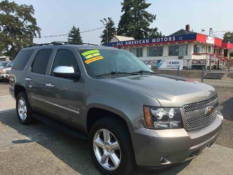 2009 Chevrolet Tahoe for sale in Tacoma, WA