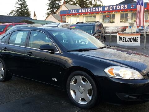 2008 Chevrolet Impala for sale in Tacoma, WA
