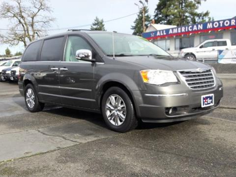 chrysler town and country for sale in tacoma wa. Black Bedroom Furniture Sets. Home Design Ideas