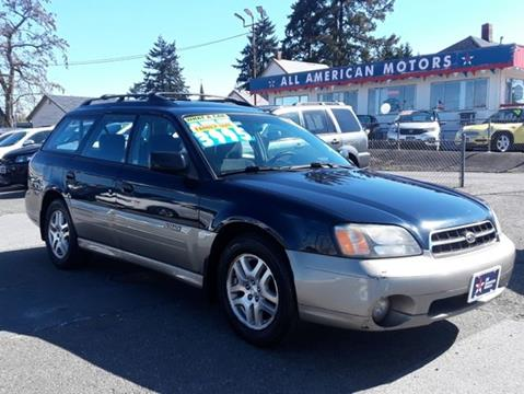 All American Motors >> Used 2002 Subaru Outback For Sale In Omaha Ne Carsforsale Com