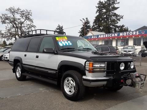 1994 GMC Suburban for sale in Tacoma, WA